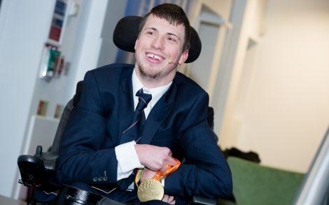 Paralympian medalist David Smith MBE